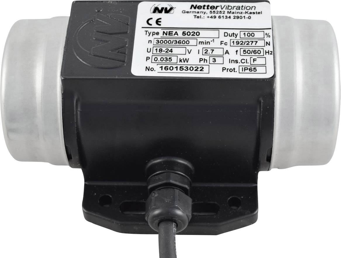 Vnější el. vibrátor Netter Vibration NEA 5020, 230 V, 192 N