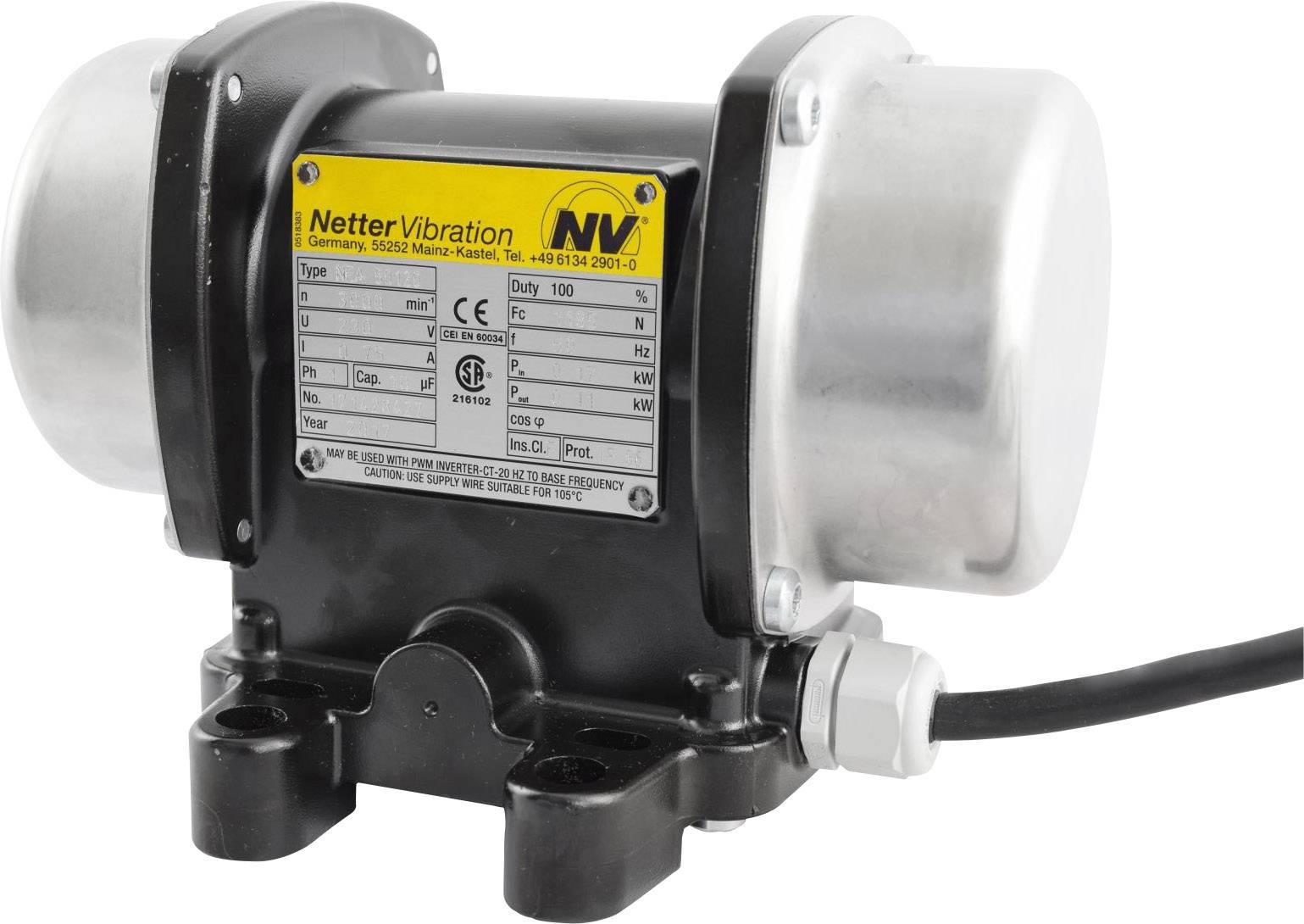 Vnější el. třepačka Netter Vibration NEA 50120, 230 V, 1185 N