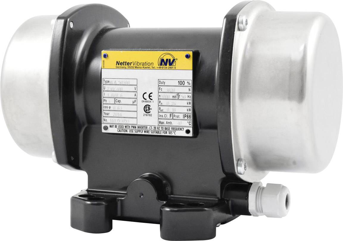 Vnější el. třepačka Netter Vibration NEG 50120, 230/400 V, 1185 N