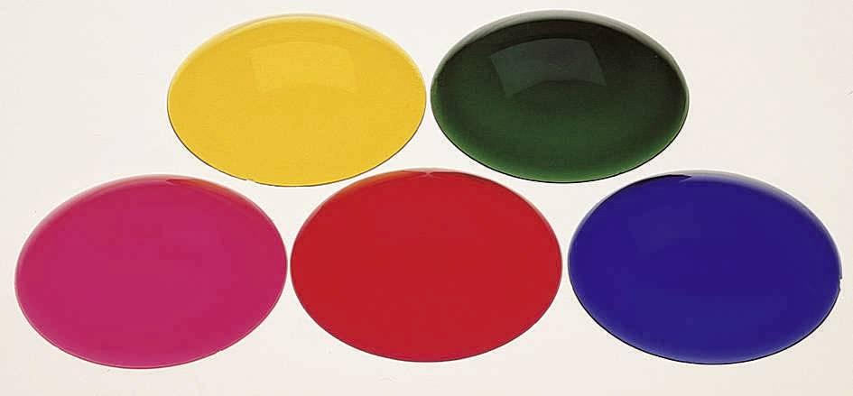 Farebný filter pre žiarovky PAR 36, červený
