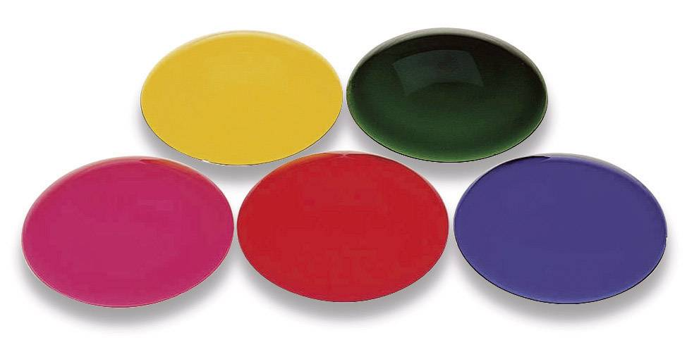 Farebný filter pre žiarovky PAR 36, žltý