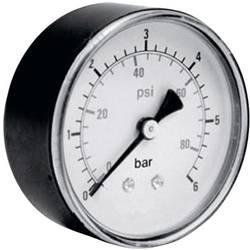 """Manometr ICH zadní strana, 0 až 10 bar, vnější závit 1/8"""""""