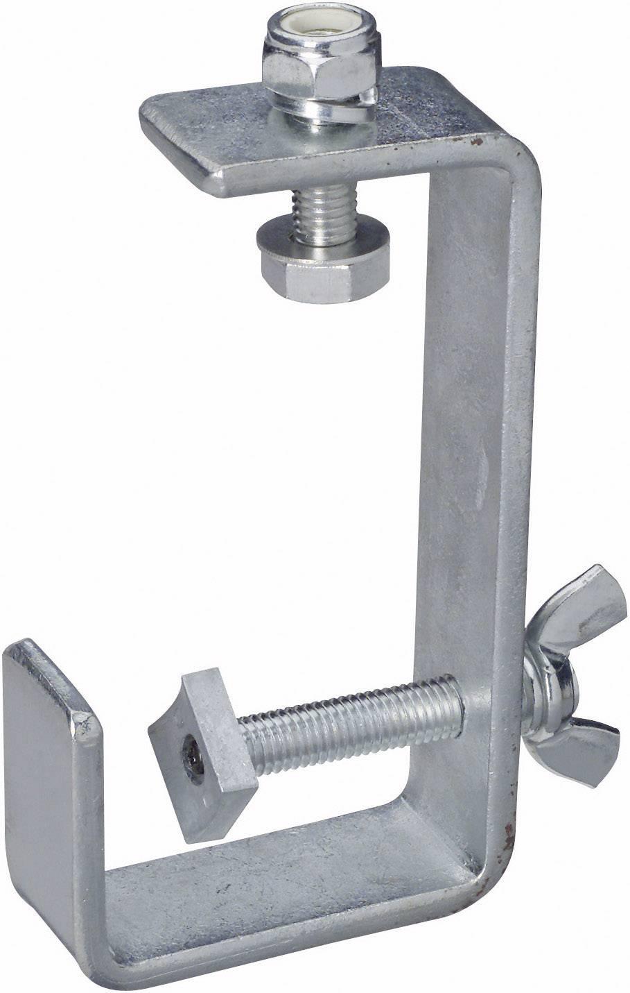 Držák reflektoru, max. 15 kg, stříbrná