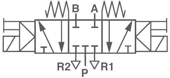 Elektropneumatický ventil Norgren V50A611A-A213A, G 1/8, 24 V/DC
