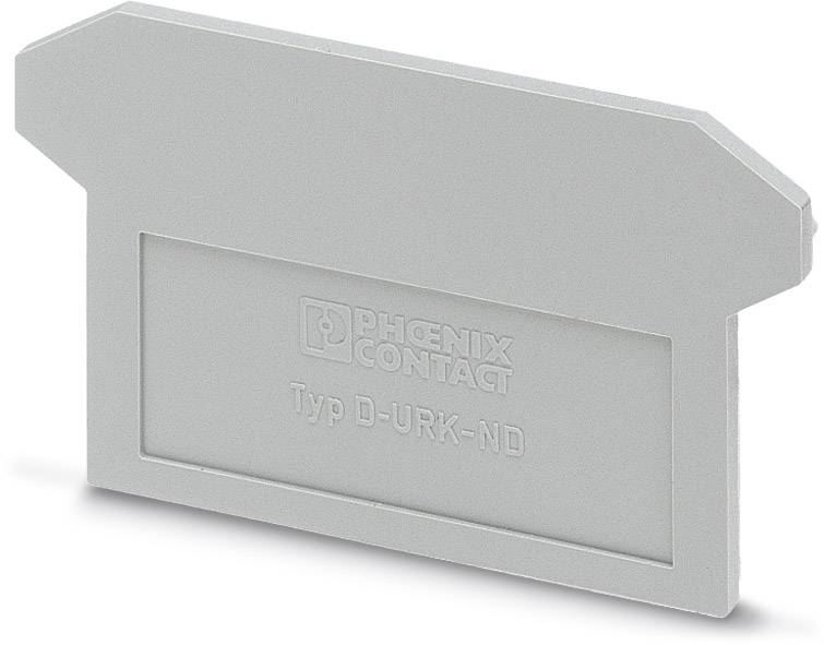 End cover D-URK-ND Phoenix Contact D-URK-ND 0701121, 50 ks