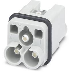 Vložka pinového konektoru Phoenix Contact 1586277, 25 + PE, axiální šroubové připojení, 10 ks
