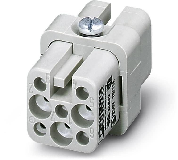 Konektorová vložka, zásuvka Phoenix Contact 1679508, 7 + PE, krimpované, 10 ks
