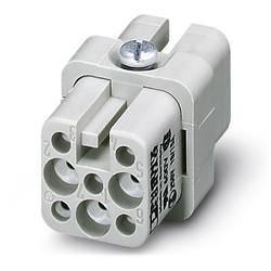 Súprava konektorovej zásuvky HC-D Phoenix Contact HC-D 7-EBUC-R 1679508, počet kontaktov 7 + PE, krimpované , 10 ks
