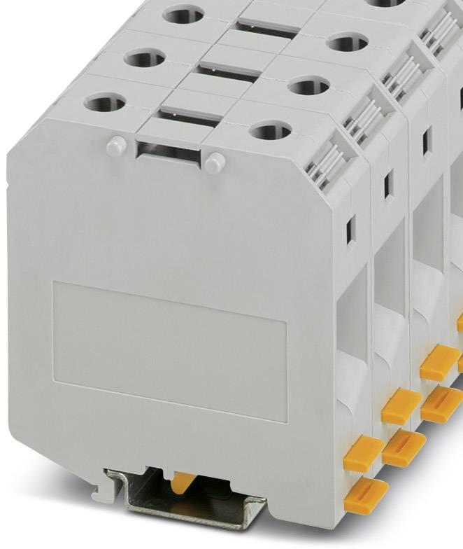 Svorka pro vysoké proudy Phoenix Contact UKH 50-IB 3009053, 10 ks, šedá