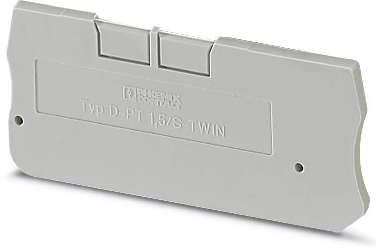 End cover D-PT 1,5/S-TWIN Phoenix Contact 50 ks