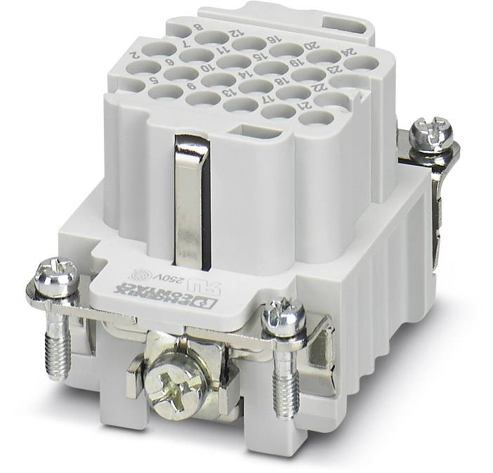 Konektorová vložka, zásuvka Phoenix Contact 1584046, 24 + PE, krimpované, 1 ks
