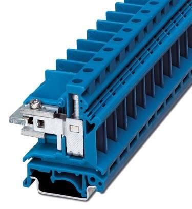 Oddělovací svorka Phoenix Contact UKN 16 BU 3033090, 50 ks, modrá