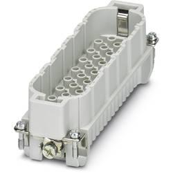 Vložka pinového konektora HC-D Phoenix Contact HC-D 64-I-CT-M 1584431, počet kontaktov 64 + PE, krimpované , 1 ks