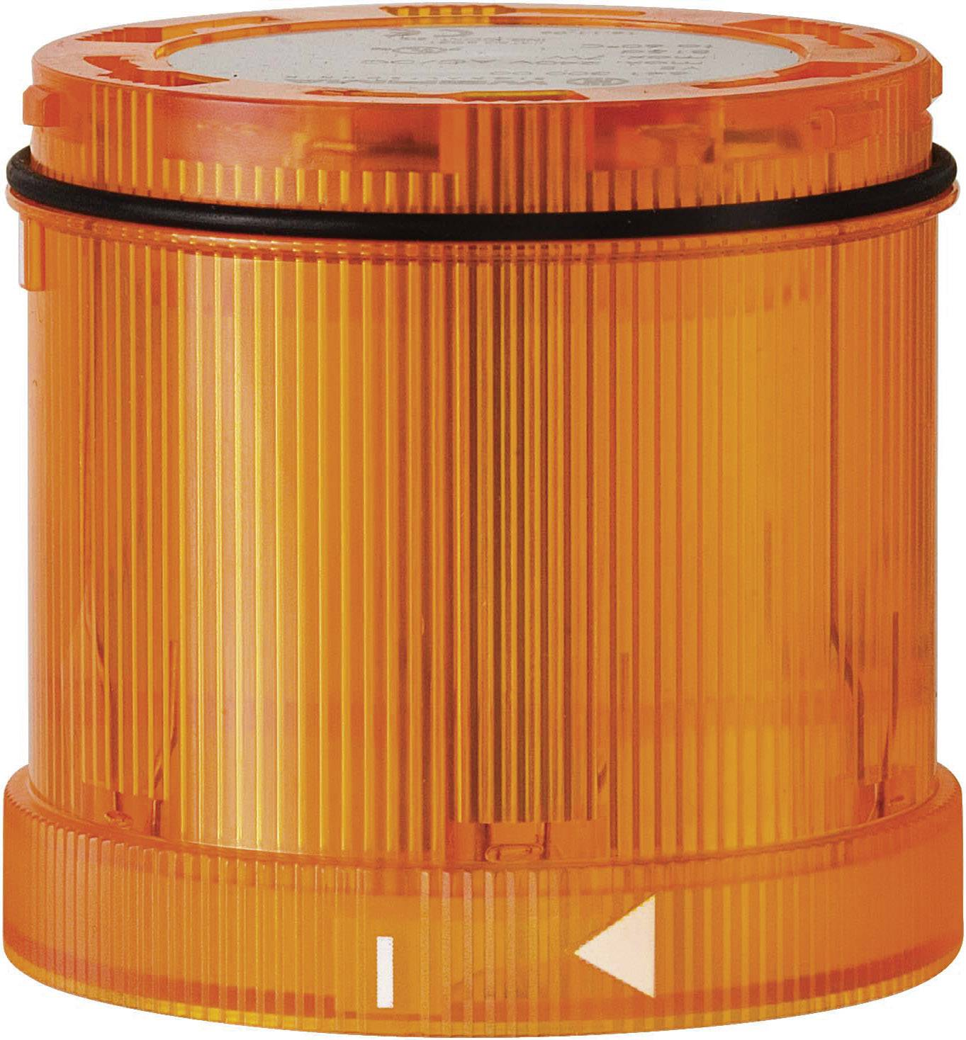 Blikající signálka Werma 643.300.55, 70 x 65 mm, 24 V/DC,IP65, žlutá
