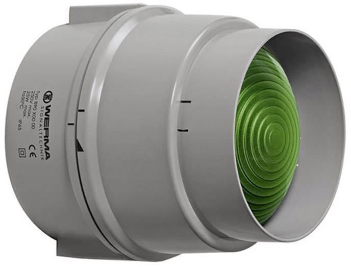 Signalizačné osvetlenie Werma Signaltechnik 890.200.00, 12 V/AC, 12 V/DC, 24 V/AC, 24 V/DC, 48 V/AC, 48 V/DC, 110 V/AC, 230 V/AC, zelená