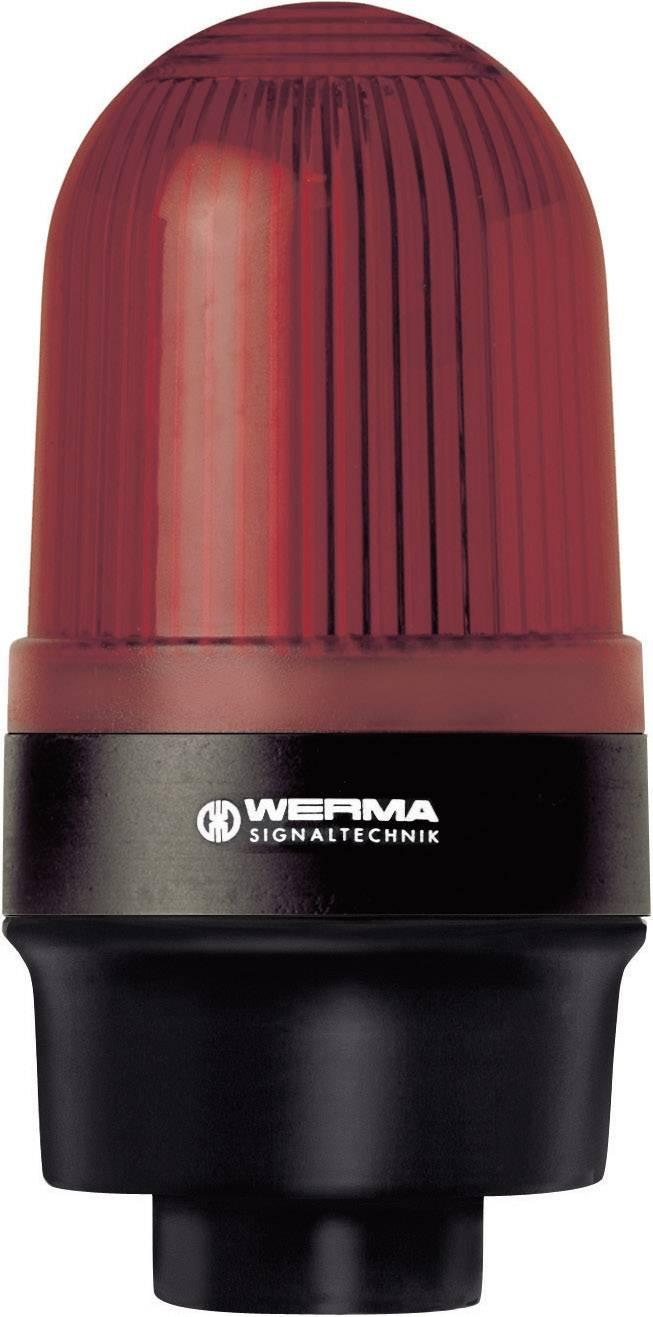 Signalizačné osvetlenie Werma Signaltechnik 219.100.00, 12 V/AC, 12 V/DC, 24 V/AC, 24 V/DC, 48 V/AC, 48 V/DC, 110 V/AC, 230 V/AC, červená