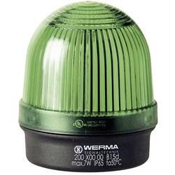 Signální osvětlení Werma Signaltechnik 200.200.00, 12 - 240 V / AC/DC, IP65, zelená