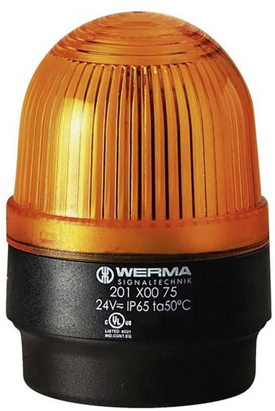 Signalizačné osvetlenie Werma Signaltechnik 202.300.55 bleskové svetlo, žltá
