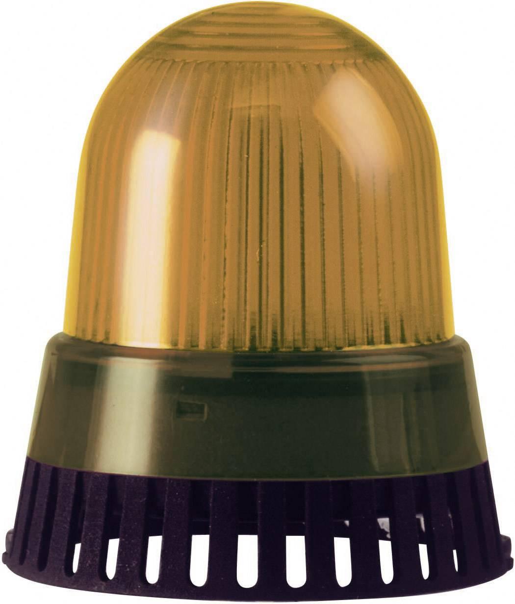 Signalizačný bzučiak LED Werma Signaltechnik 420.310.75, 92 dB, 24 V/AC, 24 V/DC, trvalé svetlo, žltá