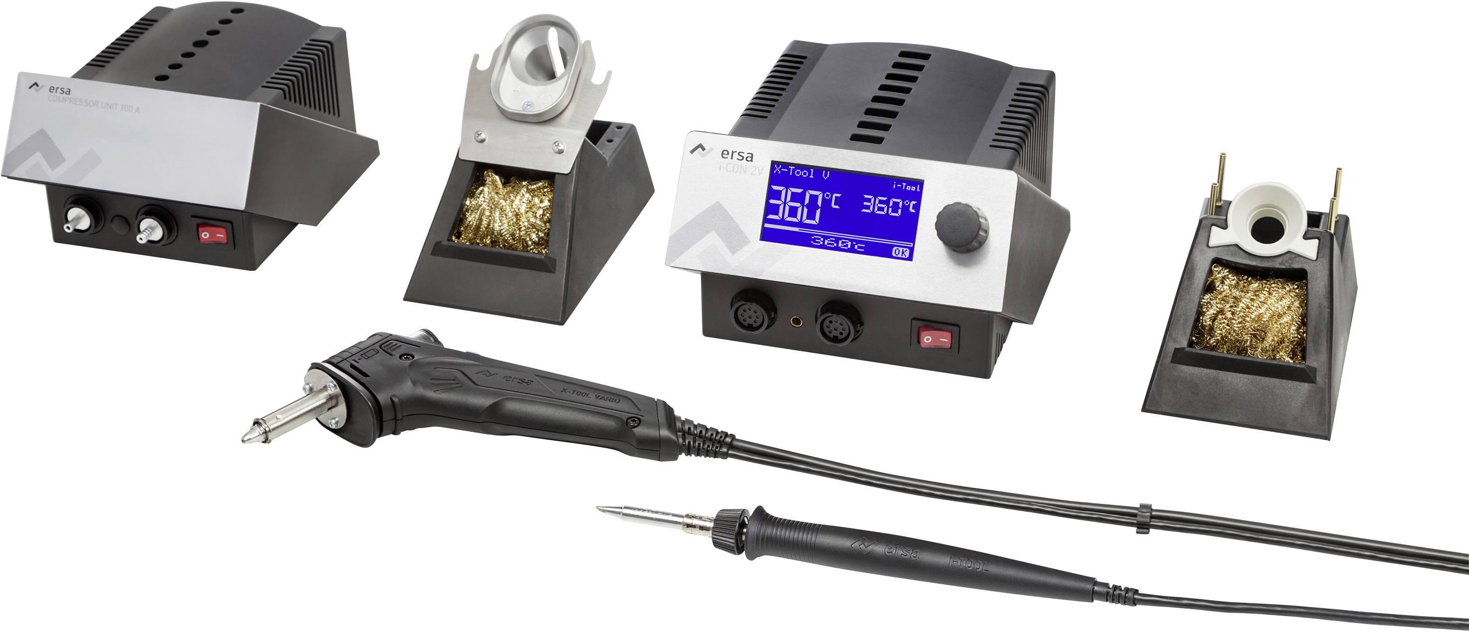 Spájkovacia stanica digitálna, 120 W, Ersa i-CON 2 - i-Tool Tool + X 150-450 °C
