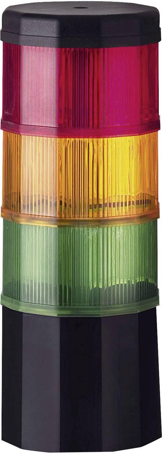 LED signálový sloupek Werma Fernost 969.009.75, 90 mA, IP54, červená, žlutá, zelená,