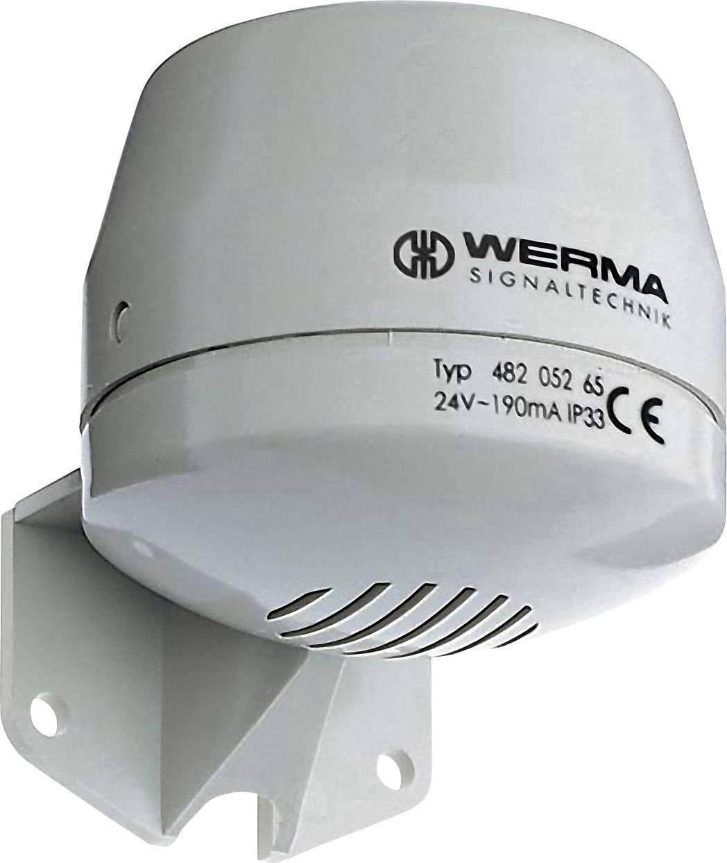 Siréna Werma Signaltechnik 482.052.55, stálý tón, 24 V/DC, 92 dB, IP33