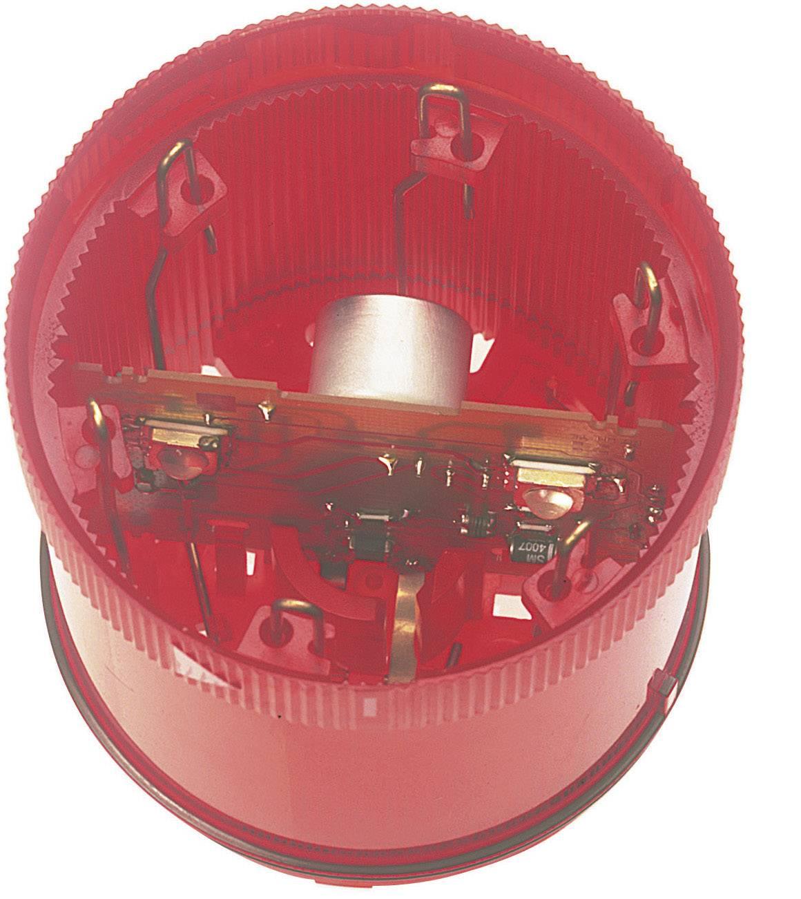 Súčasť signalizačného stĺpika LED Werma Signaltechnik WERMA KombiSign 71 644.100.75, 24 V/DC, trvalé svetlo, červená