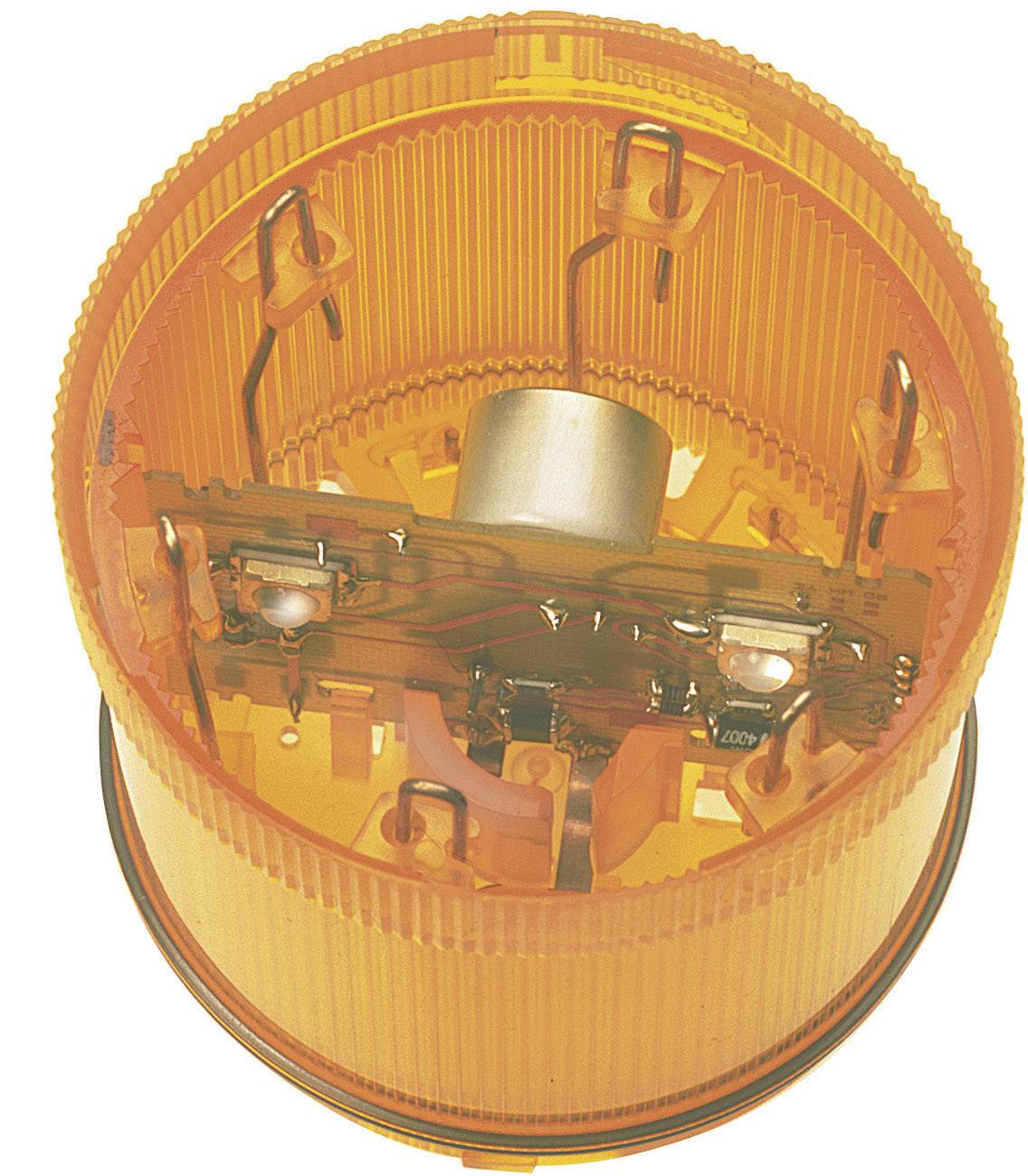 Súčasť signalizačného stĺpika LED Werma Signaltechnik WERMA KombiSign 71 644.300.75, 24 V/DC, trvalé svetlo, žltá