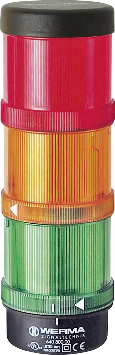 Signalizačný systém - základňa pre montáž Werma Signaltechnik 640.800.00 Vhodné pre rad (signálna technika) KombiSIGN 71