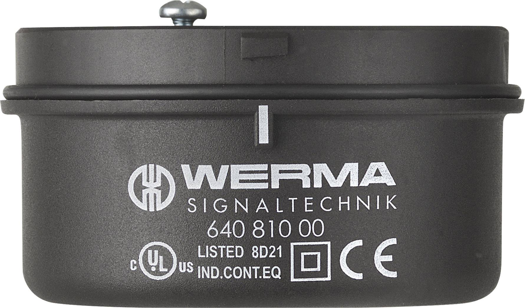 Připojovací prvek Werma Signaltechnik 640.810.00 pro montáž světel na trubku