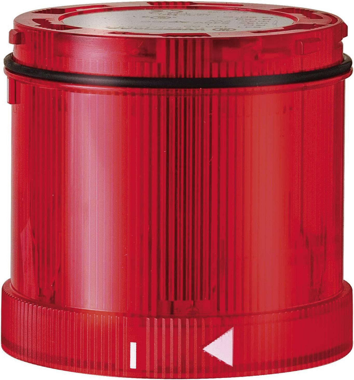 Súčasť signalizačného stĺpika Werma Signaltechnik WERMA KombiSign 71 641.100.00, 12 V/AC, 12 V/DC, 24 V/AC, 24 V/DC, 48 V/AC, 48 V/DC, 110 V/AC, 230 V/AC, trvalé svetlo, červená