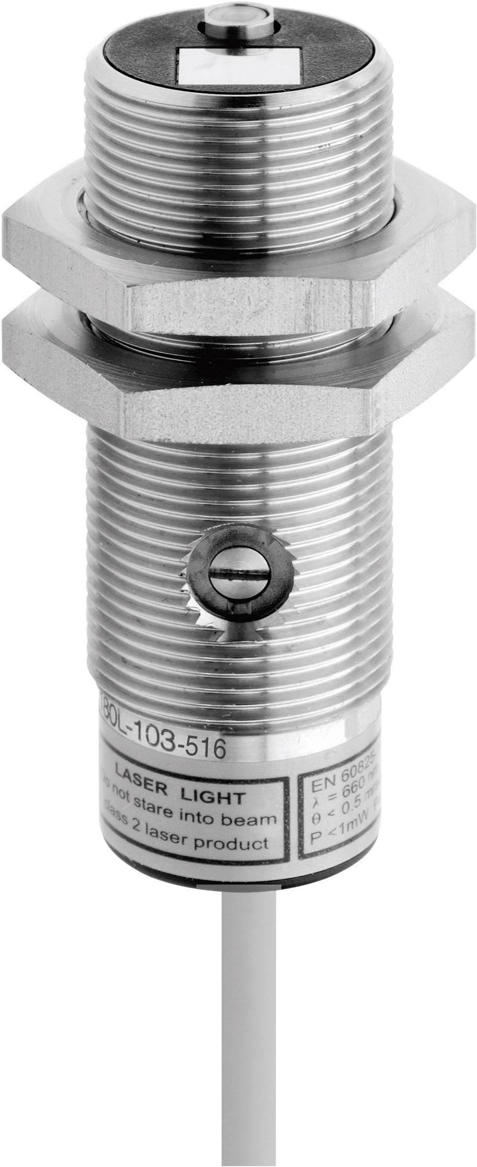 Reflexný laserový snímač CONTRINEX LTK-1180L-103-516, dosah 25 - 250 mm, kábel 2 m