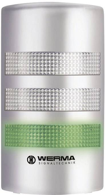 Signalizačný stĺpik LED Werma Signaltechnik WERMA KombiSign 71 691.300.55, 24 V/DC, trvalé svetlo, blikajúce