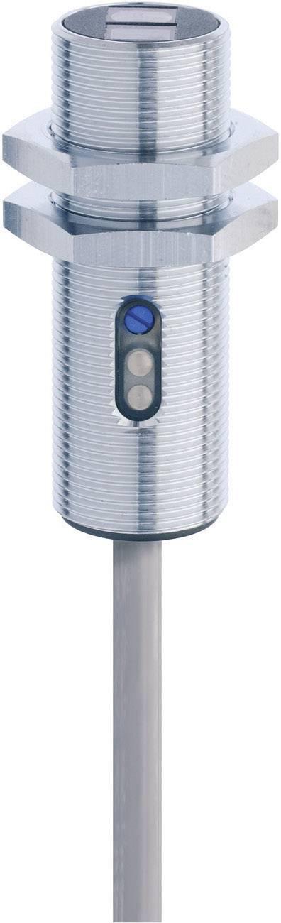 Reflexní optická závora série M18 Contrinex LTK-1180-103, kabel 2 m, dosah 40 - 600 mm