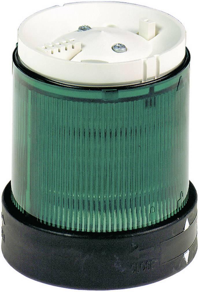 Součást signalizačního sloupku Schneider Electric XVBC5B3, zelená, blikající světlo, 24 V/DC