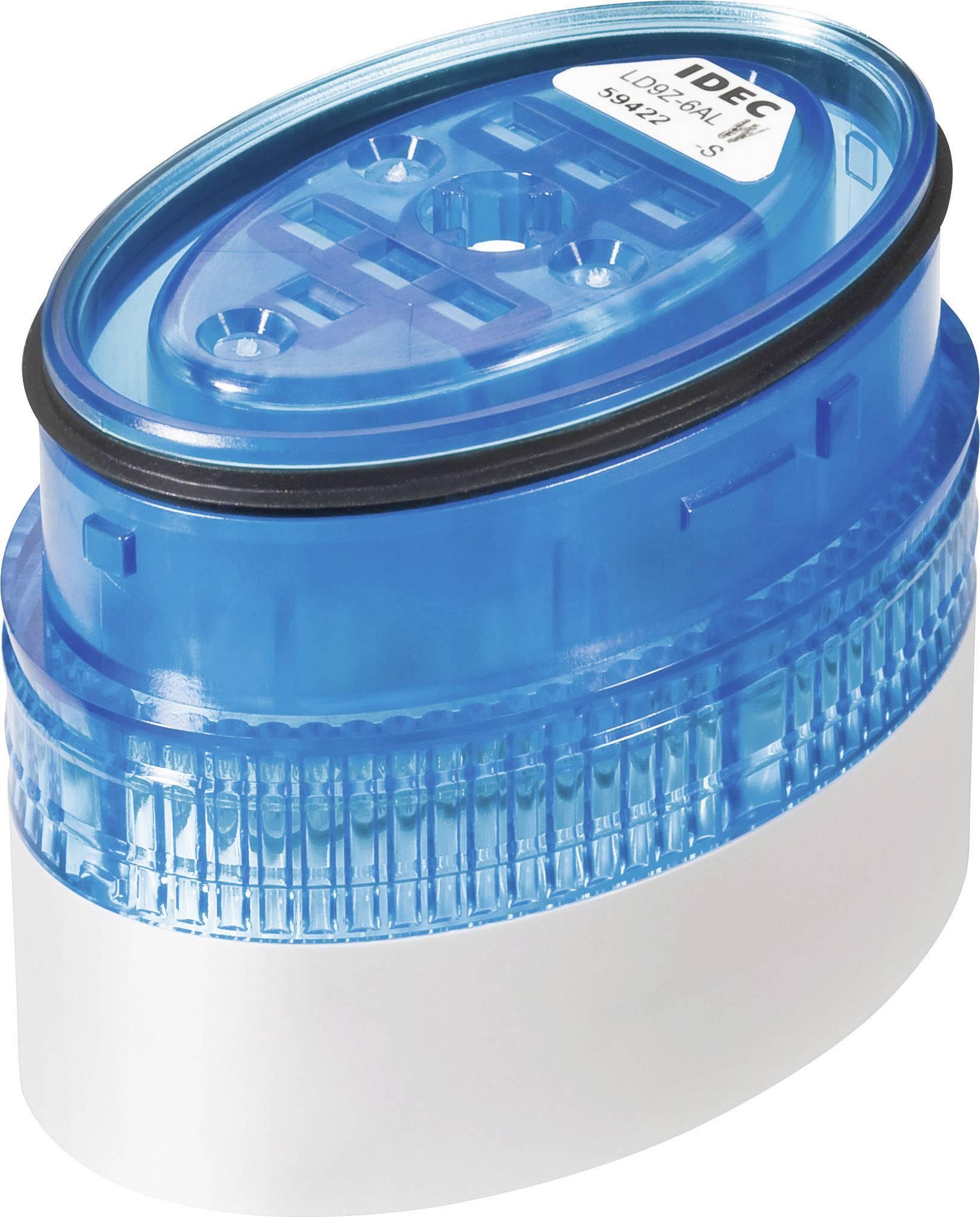 LED signalizace Idec LD6A (LD9Z-6ALW-S), IP65, Ø 40 x 60 mm, modrá