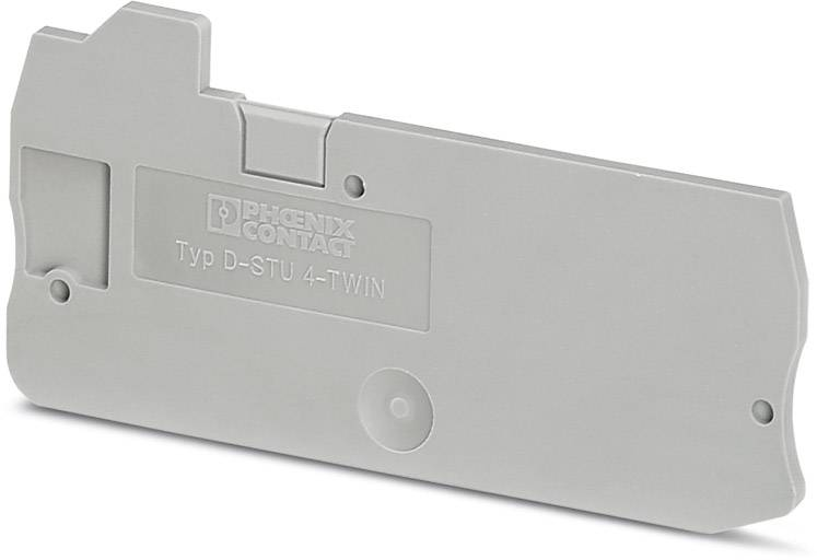End cover D-STU 4-TWIN Phoenix Contact 50 ks