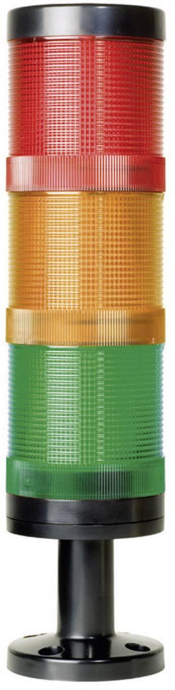 Súčasť signalizačného stĺpika LED ComPro CO ST 70 CO ST 70, 75 dB, 24 V/DC, 24 V/AC, trvalé svetlo, blikanie, výstražný maják, červená, žltá, zelená