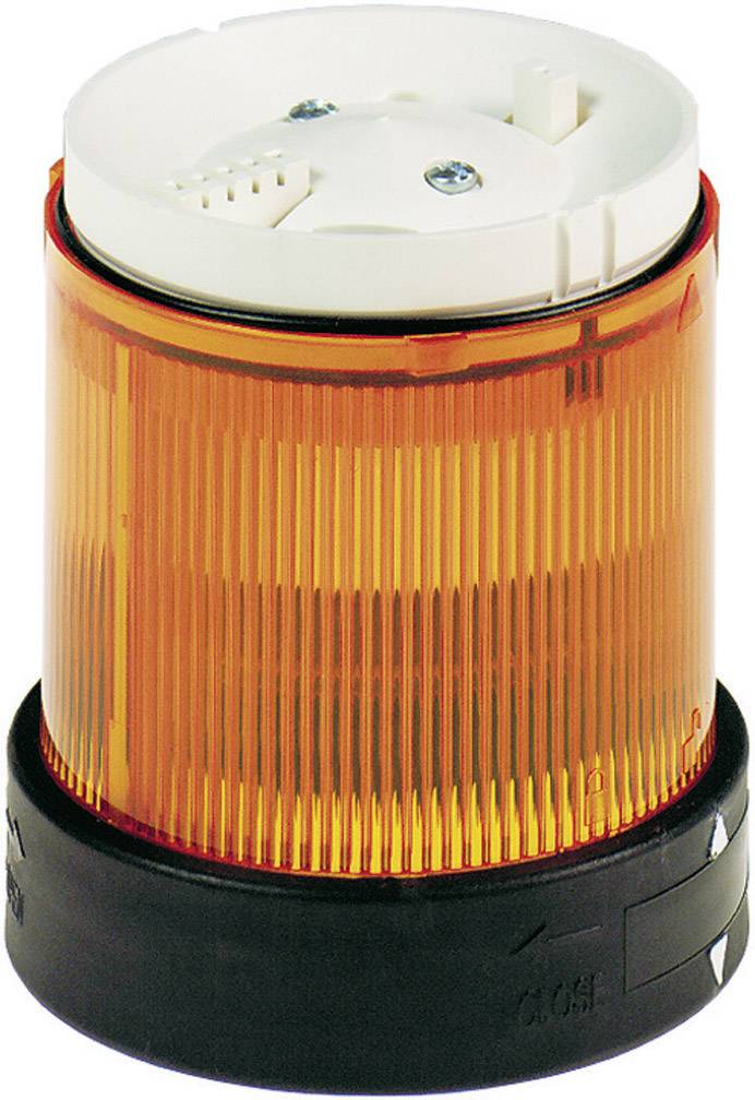 Součást signalizačního sloupku Schneider Electric XVBC2B5, oranžová, trvalé světlo, 24 V/DC
