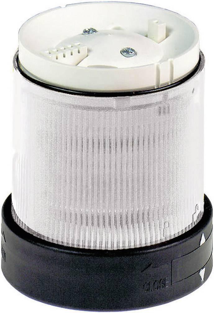 Součást signalizačního sloupku Schneider Electric XVBC2B7, bílá, trvalé světlo, 24 V/DC