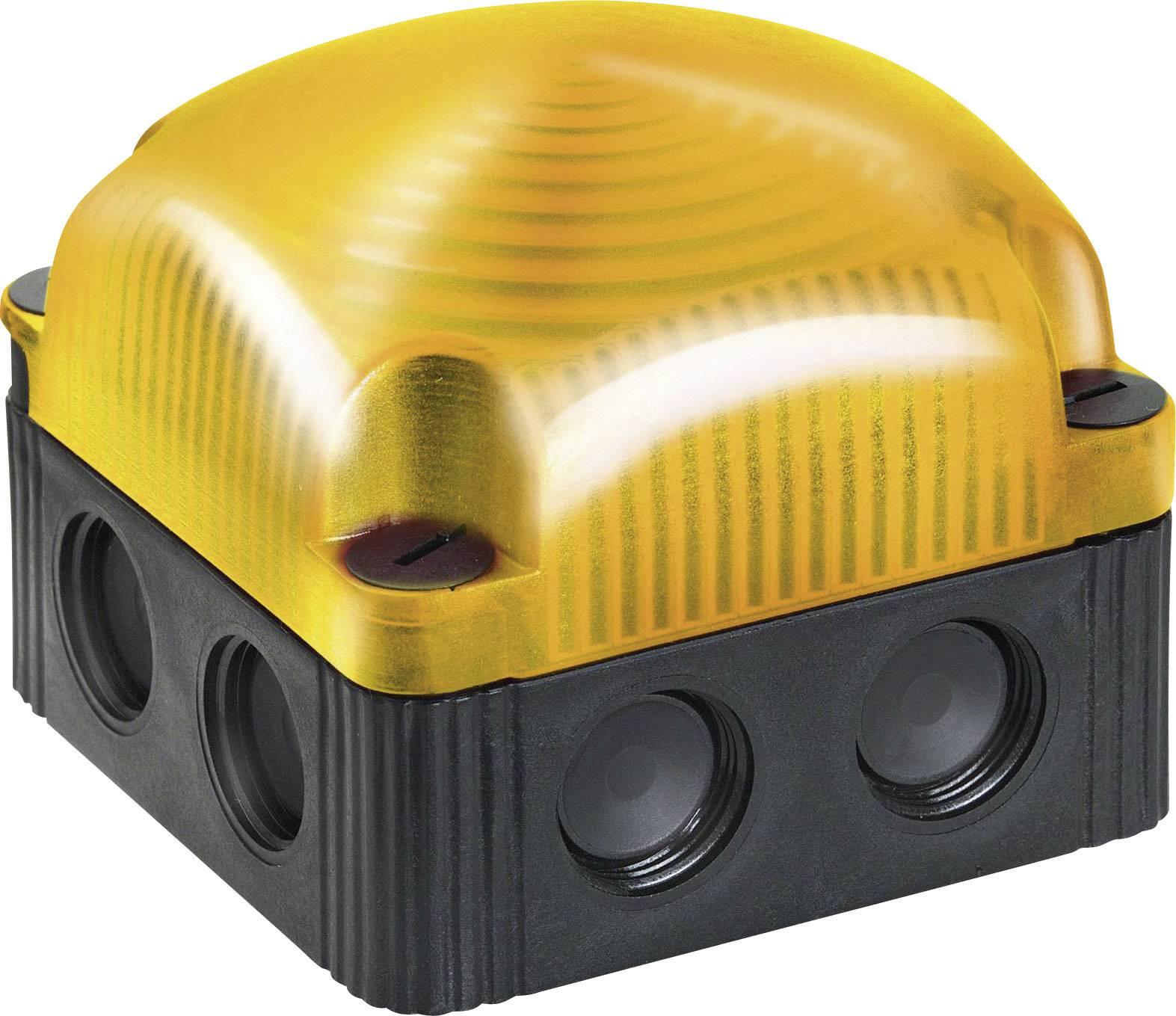 Signalizačné osvetlenie Werma Signaltechnik 853.300.60, LED trvalé svetlo, žltá