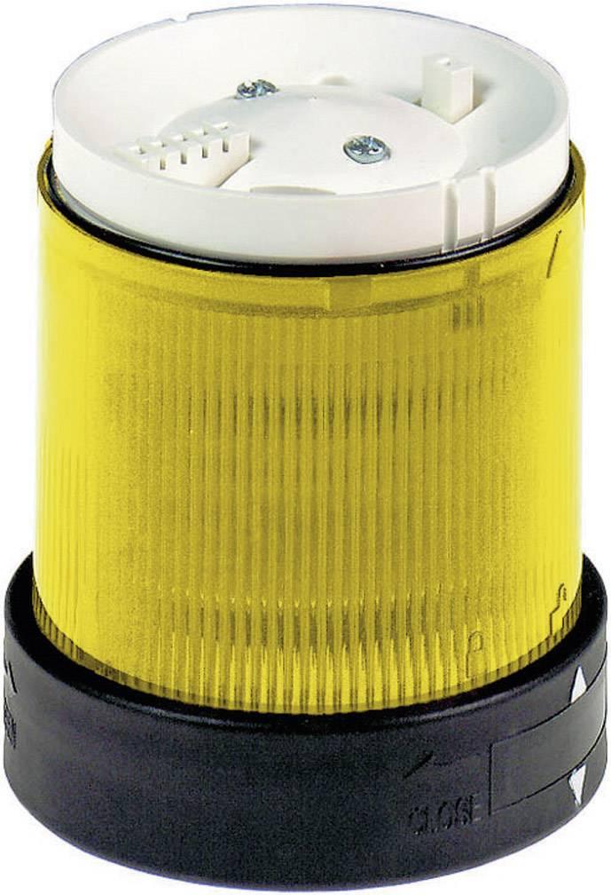Součást signalizačního sloupku Schneider Electric XVBC2B8, žlutá, trvalé světlo, 24 V/DC
