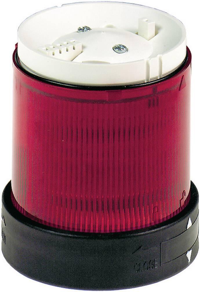 Modul signalizačního sloupku Schneider Electric XVBC5B4, červená, blikající světlo, 24 V/DC