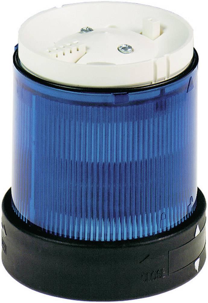 Součást signalizačního sloupku Schneider Electric XVBC5B6, modrá, blikající světlo, 24 V/DC
