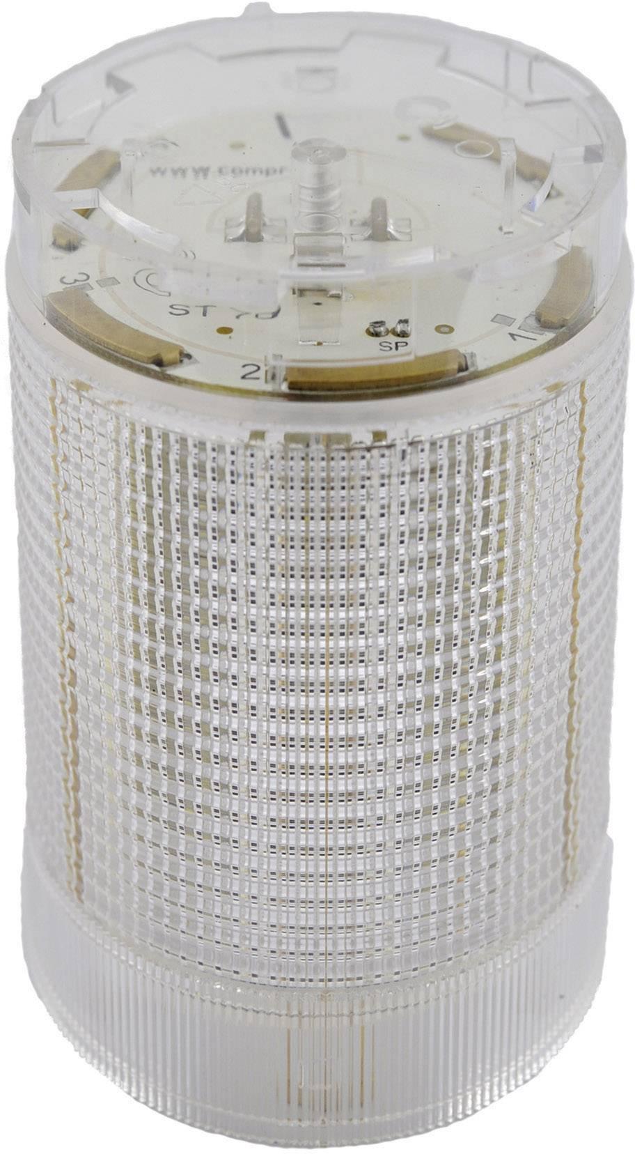 Součást signalizačního sloupku LED ComPro CO ST 40, bílá, trvalé světlo, blikající světlo, 24 V/DC, 24 V/AC, 75 dB