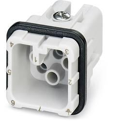 Zástrčková vložka HC-D Phoenix Contact HC-D 7-I-CT-M 1584334, počet kontaktov 7 + PE, krimpované , 1 ks