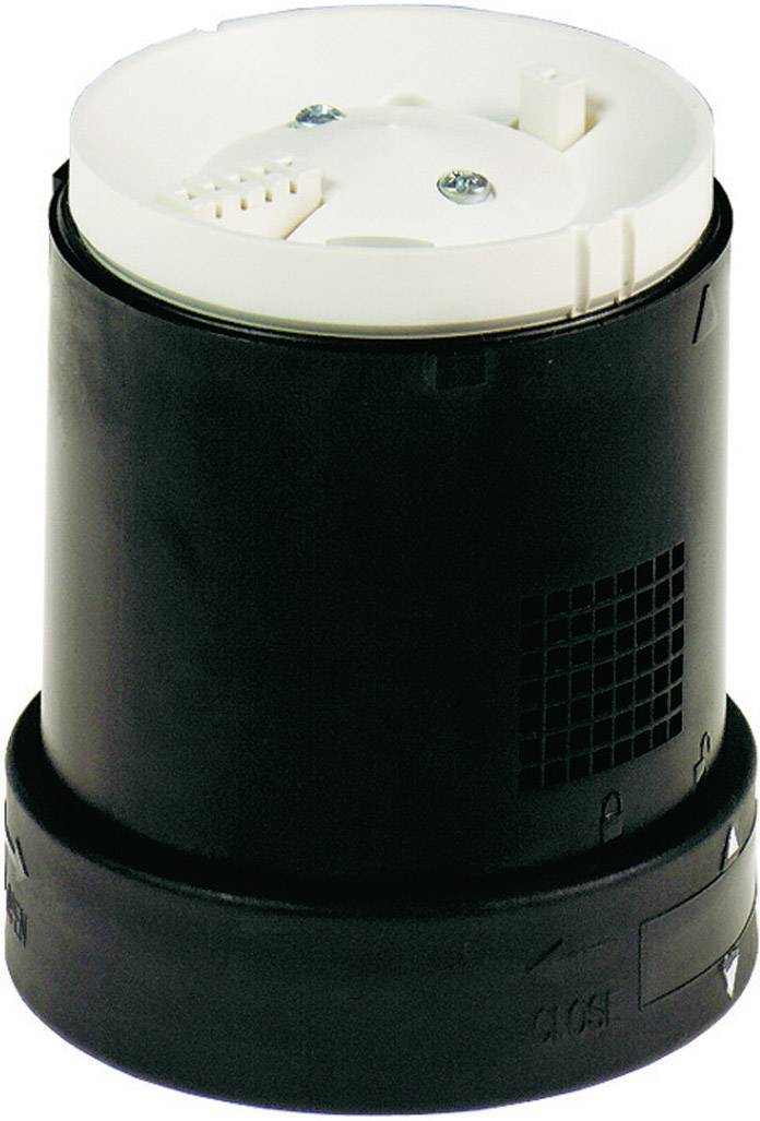 Signalizační siréna Schneider Electric XVB 0060024, stálý tón, pulzní tón, černá