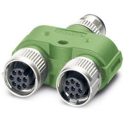 Rozdeľovač a adaptér pre senzory - aktory Phoenix Contact SAC-8PY-M/2XF VP 1454972, 5 ks