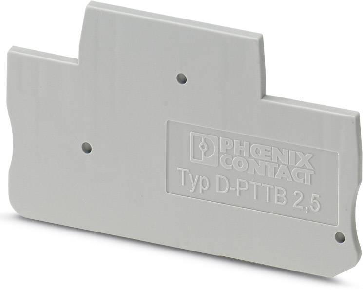 End cover D-PTTB 1,5/S/2P Phoenix Contact 50 ks