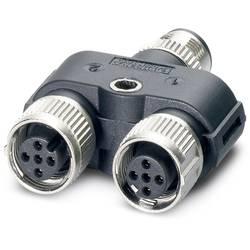 Rozdeľovač a adaptér pre senzory - aktory Phoenix Contact SAC-3P-M12Y/2XM12FS 3L 1403627, 5 ks